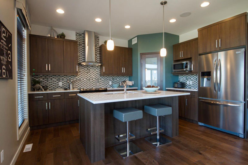 The woodbury ii ud randall homes home builders for Kitchen designs by decor winnipeg