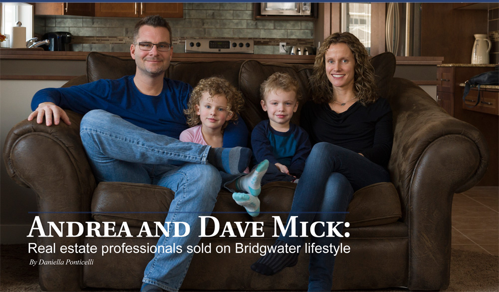 Neighbours of Bridgwater featuring the Mick family - Randall Homes - Custom Homes
