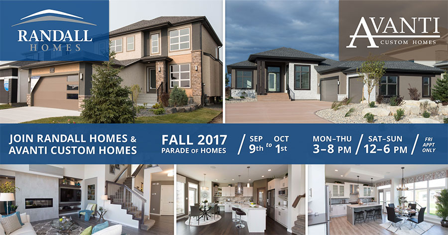 Join Us! 2017 Fall Parade of Homes – Sep 9 to Oct 1